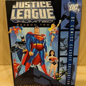 JUSTICE LEAGUE UNLIMITED: COMPLETE SECOND SEASON (